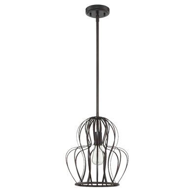 Tammi 1-Light Mini Pendant Finish: Aged Bronze Brushed