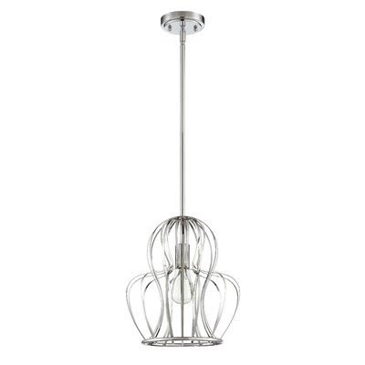 Tammi 1-Light Mini Pendant Finish: Chrome