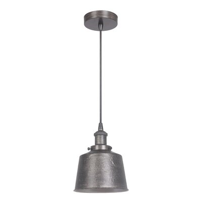 Katmai 1-Light Mini Pendant Finish: Natural Iron/Vintage Iron