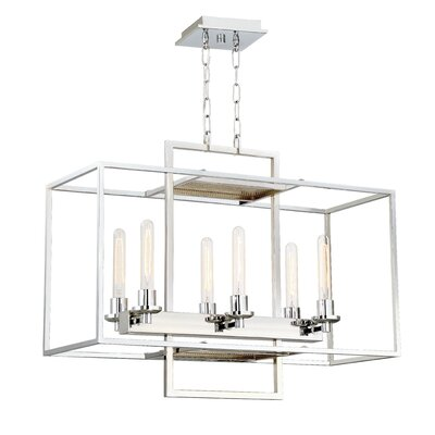 Noelle 6-Light Candle-Style Chandelier