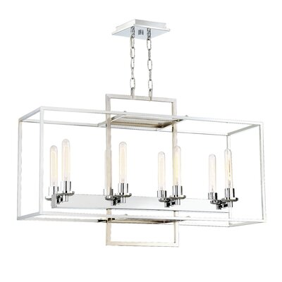 Gretna 8-Light Candle-Style Chandelier