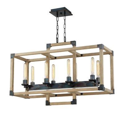 Tianna 8-Light Candle-Style Chandelier