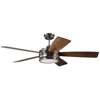 "52"" Legendre 5 Blade Ceiling Fan with Remote RDBL8060 39062709"