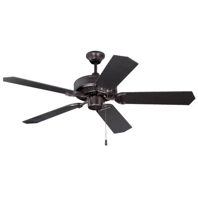 52 Legere 5 Blade Ceiling Fan Finish: Oiled Bronze