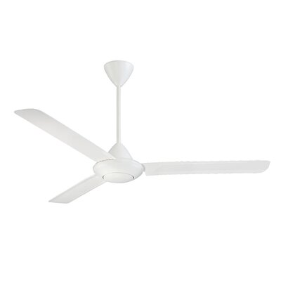 56 Horsetail 3 Blade Outdoor Ceiling Fan