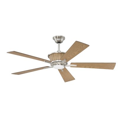 "52"" Faulkner 5 Blade Ceiling Fan with Remote DABY4081 39062751"