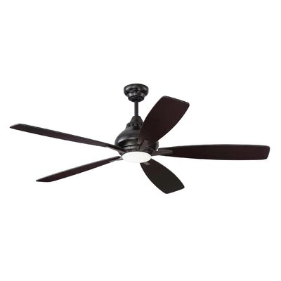 "52"" Ariel 5 Blade Ceiling Fan with Remote BRAY6027 39062816"