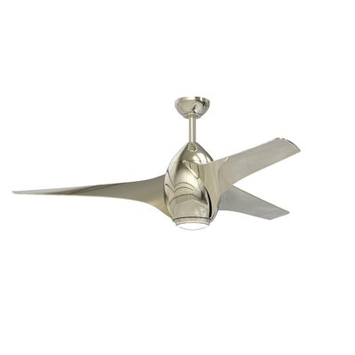 "52"" Valerie 3 Blade Ceiling Fan with Remote BRAY6028 39062818"