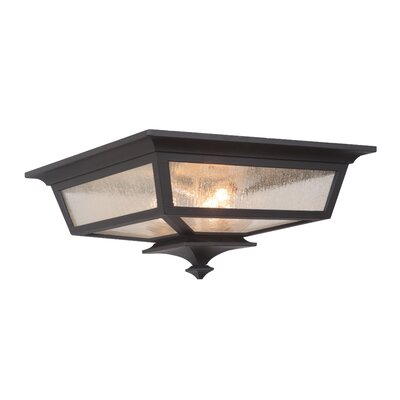 Chafin 3-Light Flush Mount Color: Midnight