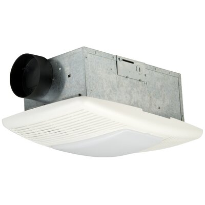 Premium Builder Bath Exhaust Fan and Heat Vent - 70 CFM