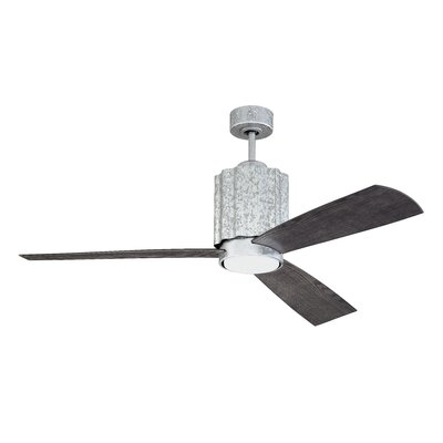 52 Monserrat 3 Blade LED Ceiling Fan with Remote
