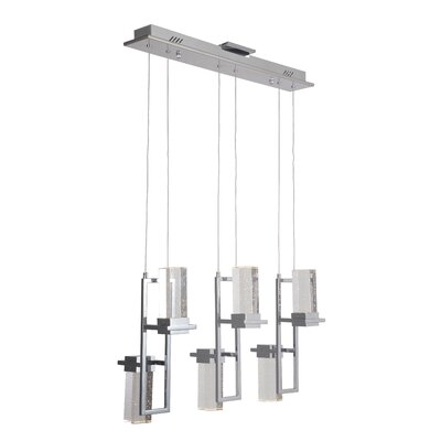 Alvin 6-Light LED Kitchen Island Pendant