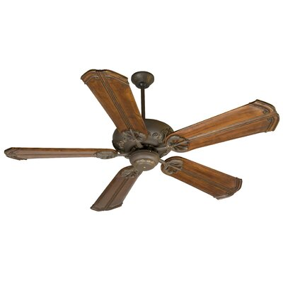 52 Ellis 5-Blade Ceiling Fan in Bronze