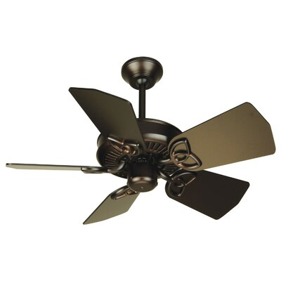 30 Emsworth 5-Blade Ceiling Fan Fan Finish: Oiled Bronze