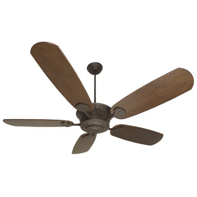 70 Sullivan Modern 5-Blade Ceiling Fan Finish: Aged Bronze Textured with Dark Oak Blades