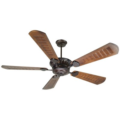 70 Sullivan 5-Blade Ceiling Fan with Downrod Finish: Oiled Bronze