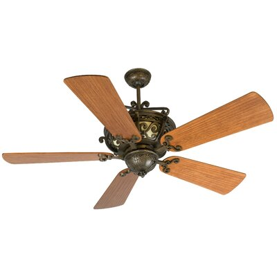 52 Whipkey 5-Blade Ceiling Fan Color: Cherry