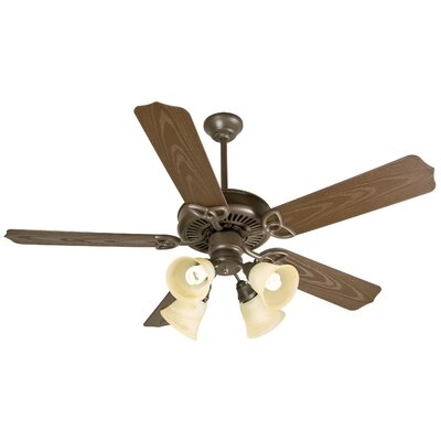 52 Mortensen 5 Blade Traditional Outdoor Ceiling Fan