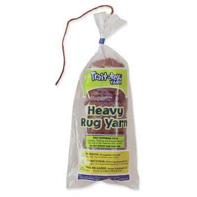 Heavy Rug Yarn Brown 60 Yards (Set of 3) PAC04053