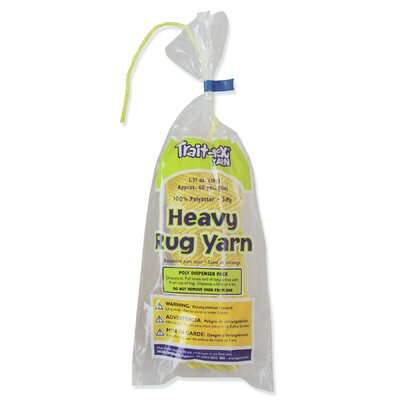 Heavy Rug Yarn Yellow 60 Yards (Set of 3) PAC04153