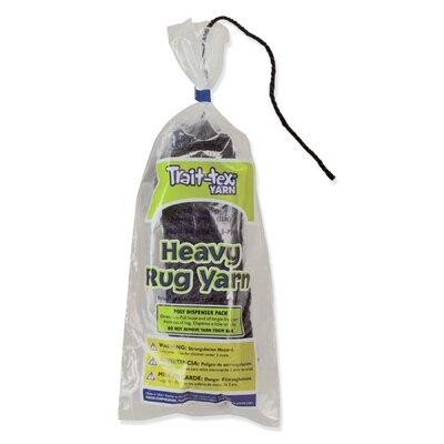 Heavy Rug Yarn Black 60 Yrds (Set of 3) PAC04293