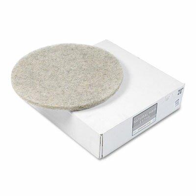 Ultra high-Speed Floor Pads, Natural Hair Extra, 5/Carton PAD4020NHE