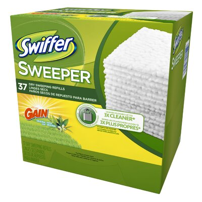 Dry Sweeping Refills with Gain Fresh Scent (Pack of 37) 83060