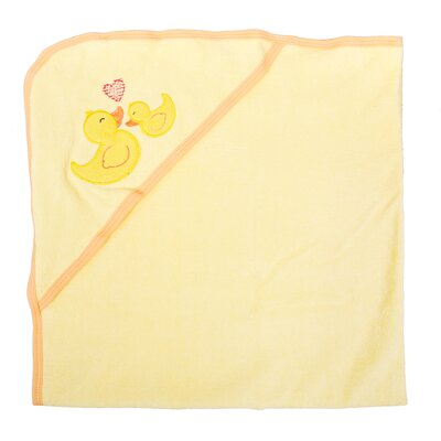 Duck Newborn Baby Hooded Bath Towel