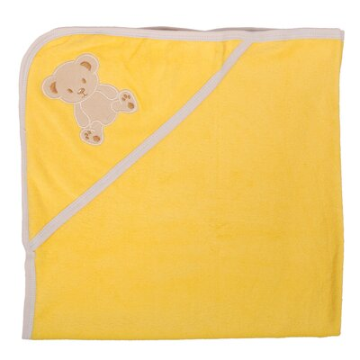 Bear Newborn Baby Hooded Bath Towel