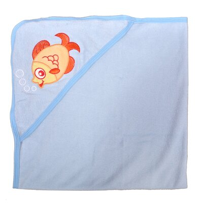 Fish Newborn Baby Hooded Colorful Bath Towel