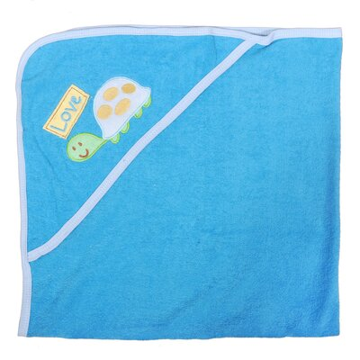 Turtle Newborn Baby Hooded Bath Towel