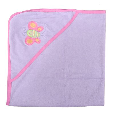 Butterfly Newborn Baby Hooded Bath Towel
