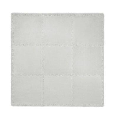 21 Piece Plush Playmat Set Color: Gray cpmpsh023