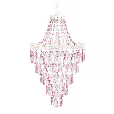Ester 1-Light Crystal Pendant
