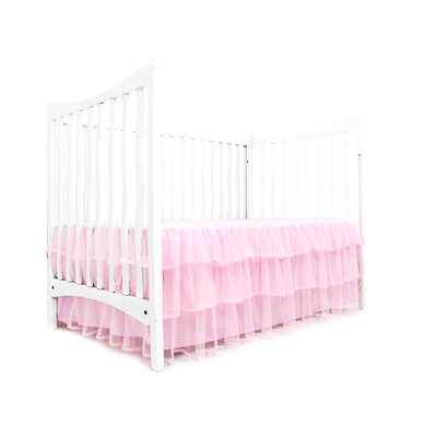 Tulle Triple Layer Bedskirt Color: Pink
