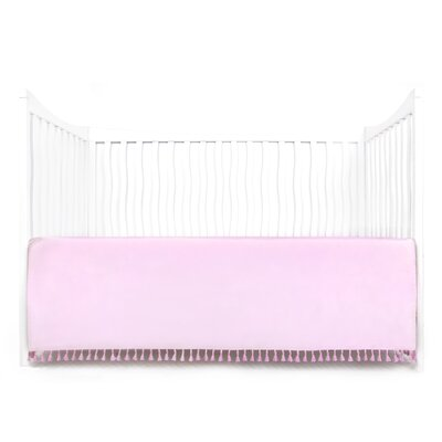 Dewayne Dust Ruffle Bed Skirt Color: Pink