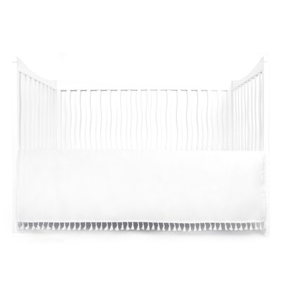 Dewayne Dust Ruffle Bed Skirt Color: White