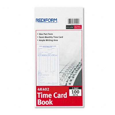 Employee Time Card (Set of 2)