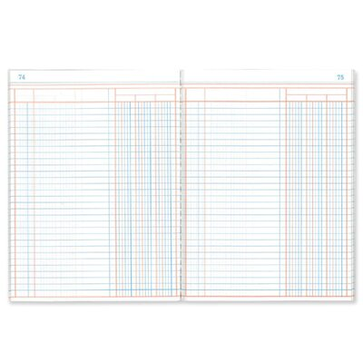Single Page Book, 3 Column, 80 Pages, 7