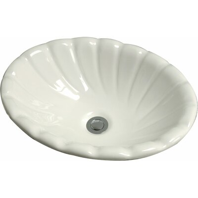Conventry Ceramic Specialty Drop-In Bathroom Sink Sink Finish: Biscuit Porcelain