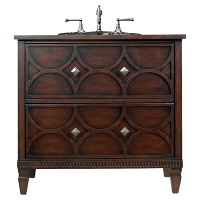 Designer 36 Dalton Sink Chest Bathroom Vanity Base