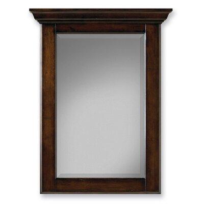 Custom Sheffield Beveled Vanity Mirror Finish: Antique Brown