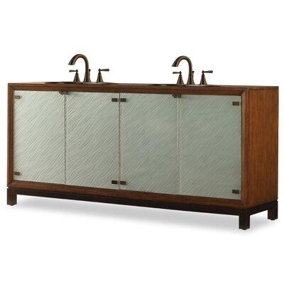 Designer Series 78 Double Isla Chest Bathroom Vanity Set