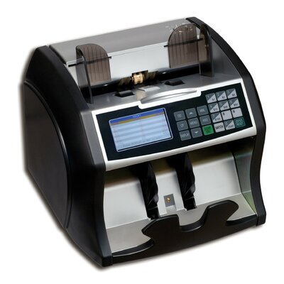 Electric Bill Counter with Value Counting and Counterfeit Detection
