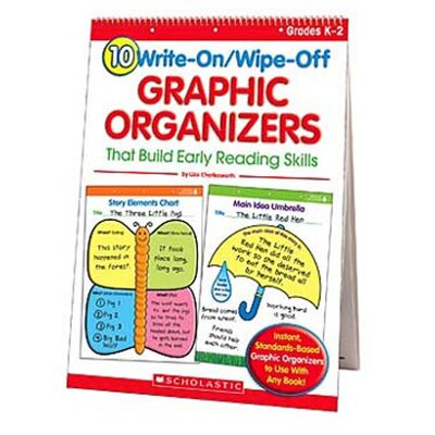 10 Write-on/wipe-off Graphic Book