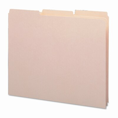 18 Point Recycled Tab File Guides, 1/3 Tab, 100/Box