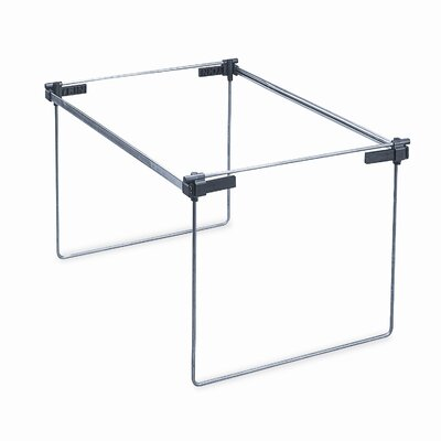 Steel Hanging Folder Frame, Letter/Legal Size, 2/Box