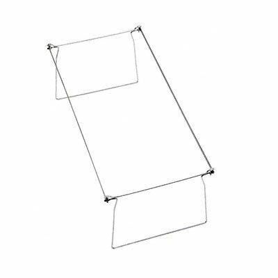 Steel Hanging Folder Frame, Letter Size, 2/Box
