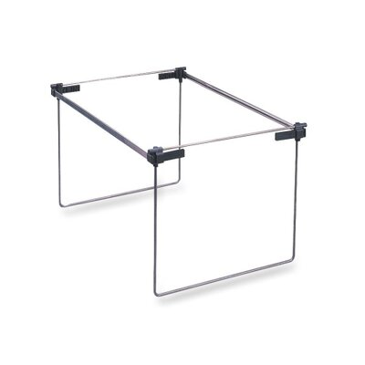 Hanging Folder Frame, Letter/Legal, Adj 19 To 24, Gray