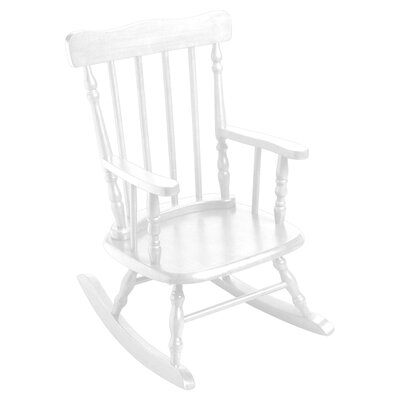 Children's Rocking Chair Finish: White